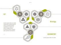 Geometry icon Website template Stock Photo