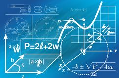 Geometry, Mathematics, Cube Stock Images