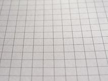 Checkered paper texture background. Geometry or maths notebook checkered paper useful as a background Royalty Free Stock Photography