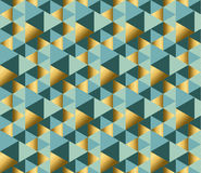 Geometry ornament repitable pattern. Royalty Free Stock Photos