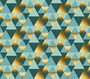 Geometry ornament repitable pattern. Stock Photos