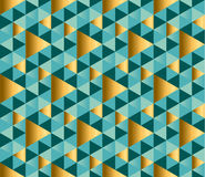 Geometry ornament repitable pattern. Royalty Free Stock Photo