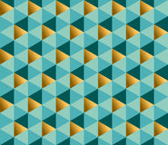 Geometry ornament repitable pattern. Royalty Free Stock Image