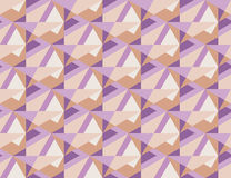 Geometry pale colr modern pattern. Stock Images