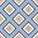 Geometry rhombus vector seamless pattern Royalty Free Stock Photography