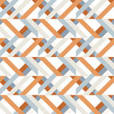Geometry rhombus vector seamless pattern Stock Photos