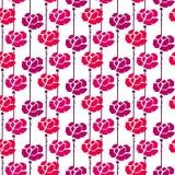 Geometry rose seamless Royalty Free Stock Image