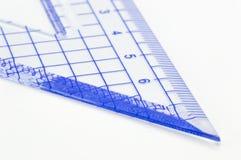 Geometry ruler Royalty Free Stock Image