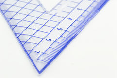 Geometry ruler Royalty Free Stock Photo