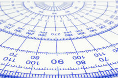 Geometry ruler Royalty Free Stock Images