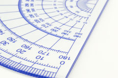 Geometry ruler Stock Photography