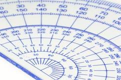 Geometry ruler Royalty Free Stock Photo
