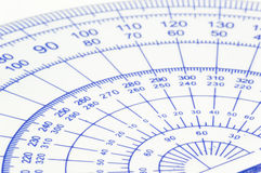 Geometry ruler Stock Photography