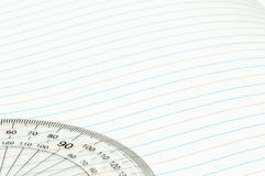 Geometry ruler Royalty Free Stock Photography