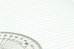 Geometry ruler Stock Images