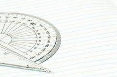 Geometry ruler Stock Photos