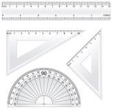 Geometry Rulers Vectors vector illustration