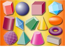 GEOMETRY. Sample color polymorphic background image Royalty Free Stock Images