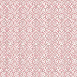 Geometry seamless pattern with concentric circles. Red and white target seamless pattern. Vector illustration. Abstract background vector illustration