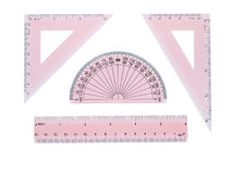 Geometry set Stock Image