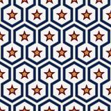 Geometry star pattern Royalty Free Stock Image