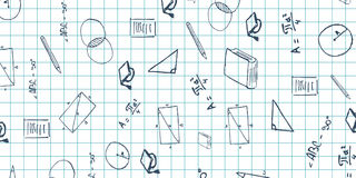 Geometry subject. Back to School background. Education banner. royalty free stock photos