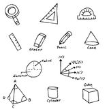 Geometry Symbols Stock Photo