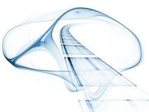 Geometry of Technology Stock Image