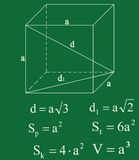 Geometry theorem Stock Image