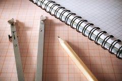 Geometry tools Royalty Free Stock Image