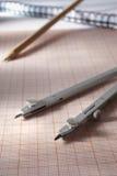 Geometry tools Stock Image
