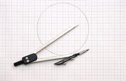 Geometry tools Stock Photography