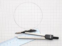 Geometry tools Stock Photo