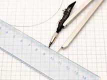 Geometry tools Royalty Free Stock Photo