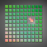 Geometry vector background Royalty Free Stock Photo