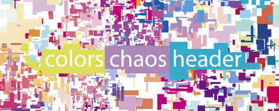 Geometry vector chaos background Royalty Free Stock Images