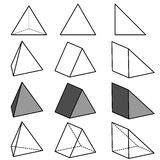 Geometry vector Stock Photos