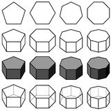 Geometry vector Royalty Free Stock Image
