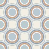 Geometry vector pattern. circle seamless ornament Stock Photo