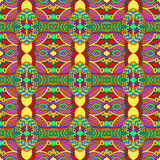 Geometry vintage pattern, ethnic style ornamental Royalty Free Stock Images