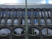 Geometry and windows Stock Photo