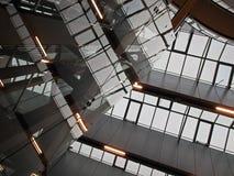 geometryczna abstrakcjonistyczna architektura Zdjęcie Royalty Free