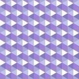 Geometryczna bezszwowa deseniowa lawendowa paleta Fotografia Stock