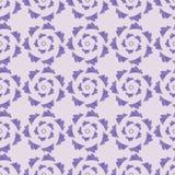Geometryczna bezszwowa ornament lawendy paleta Zdjęcie Royalty Free