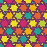 geometryczna bezszwowa tekstura Obraz Royalty Free