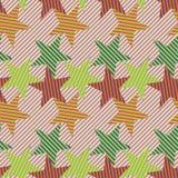 geometryczna bezszwowa tekstura Obrazy Royalty Free