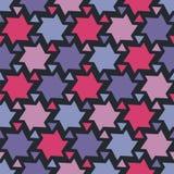 geometryczna bezszwowa tekstura Obrazy Stock