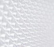 Geometryczna biała tło przyszłość Fotografia Royalty Free