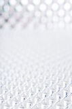 Geometryczna biała tło przyszłość Obraz Royalty Free