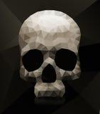 Geometryczna czaszka Fotografia Royalty Free